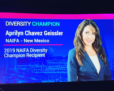 Aprilyn Naifa Award photo