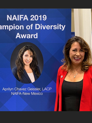 Aprilyn Chavez-Geissler - 2019 Diversity Champion (image)