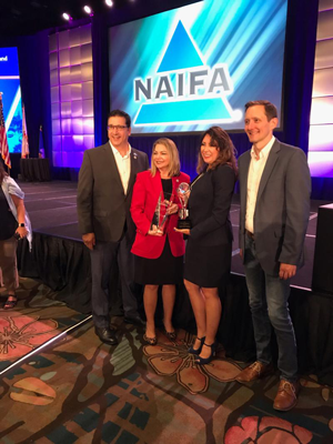 2019 NAIFA Diversity Award ceremony
